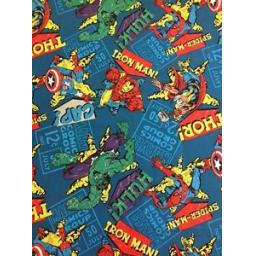 MARVEL-PATCHWORK-FABRIC-AVENGERS-CHARACTERS-37860