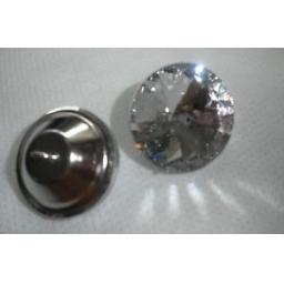 4-x-20mm-UPHOLSTERY-GLASS-BUTTONS-WITH-METAL-SHANK