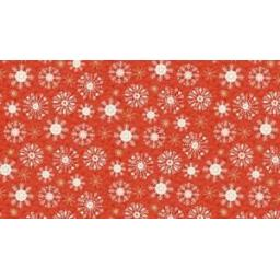 MAKOWER-SNOWFLAKE-MERRY-CHRISTMAS-PATCHWORK-FABRIC-2115-RED-OR-GREEN