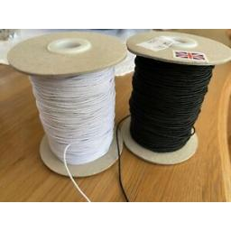 5m-X-1mm-ROUND-ELASTIC-WHITE-BLACK