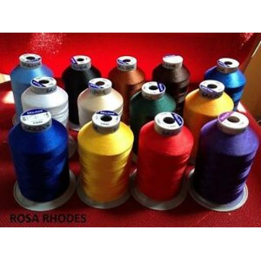 BRILDOR EMBROIDERY MACHINE THREADS 5000m