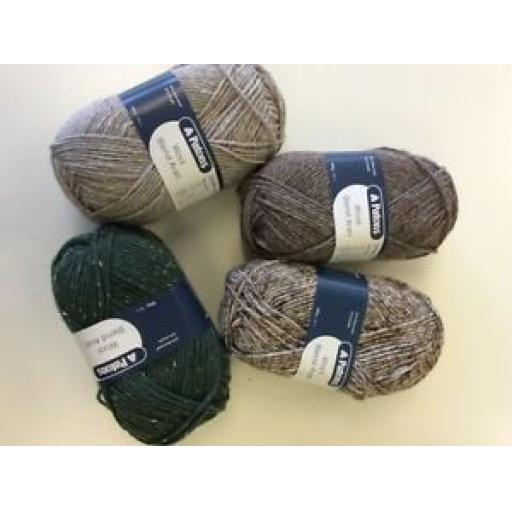 PATONS WOOL BLEND ARAN - VARIOUS COLOURS