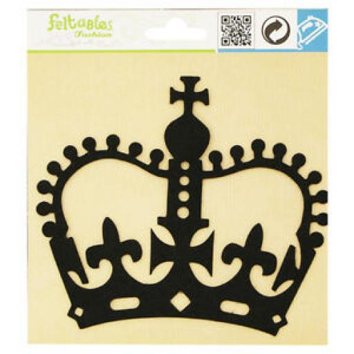 Feltable Embelishment Silhouette - Crown