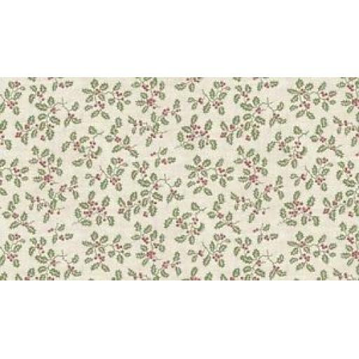 MAKOWER-PATCHWORK-FABRIC-BALMORAL-HOLLY-CREAM-1602-Q
