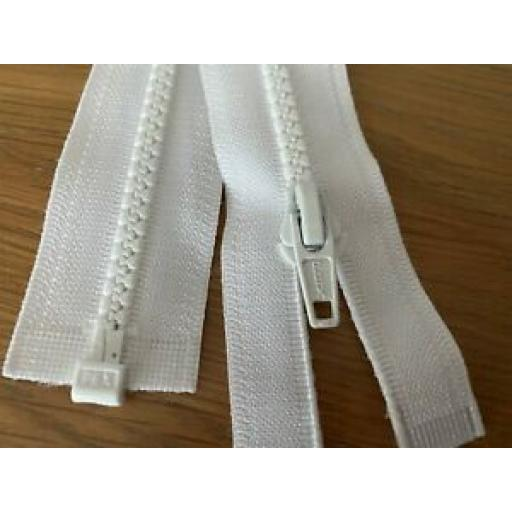 OPEN ENDED NYLON ZIP - VARIOUS SIZES AND COLOUR