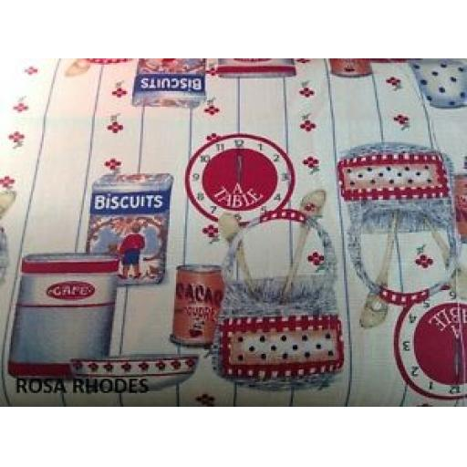PATCHWORK-FABRIC-RETRO-BISCUITS-PRINT-100-COTTON-FABRIC-LINEN-LOOK