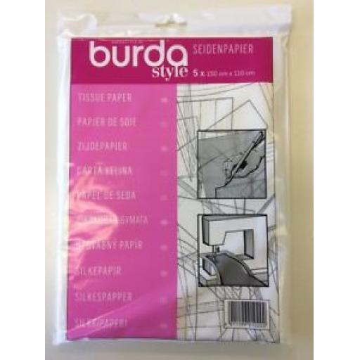 BURDA STYLE TISSUE PAPER - TRACING PAPER - SEWING, EMBROIDERY, ARTS AND CRAFTS