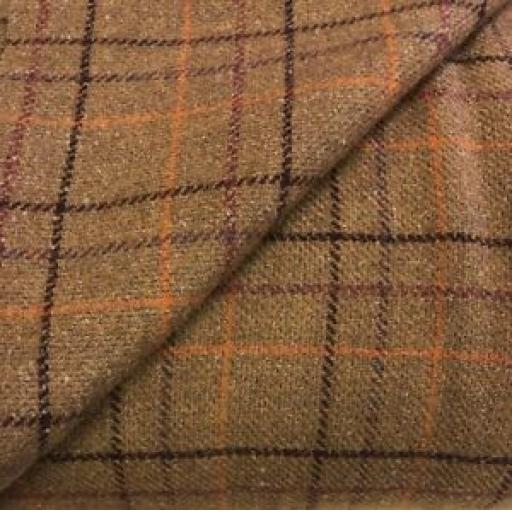 PETER HORTON DRESS FABRIC - TARTAN WOOL FABRIC