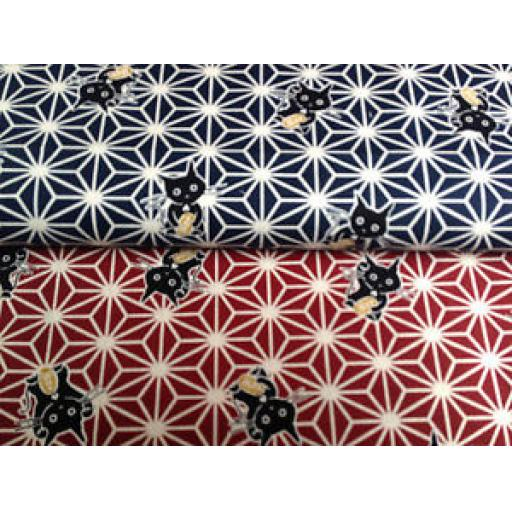 NUTEX PATCHWORK FABRIC - NEKO - 64420