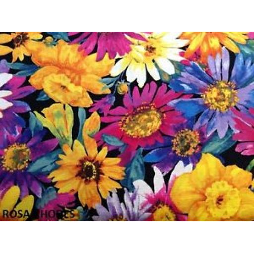 NUTEX PATCHWORK FABRIC - GARDEN PARTY - 13889-101