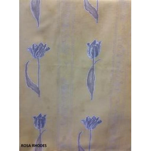 REMNANT FABRIC - TULIP STRIPE