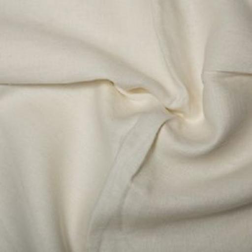 100% WASHED LINEN - IVORY