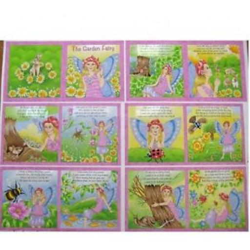 NUTEX - THE GARDEN FAIRY STORY BOOK - 89390