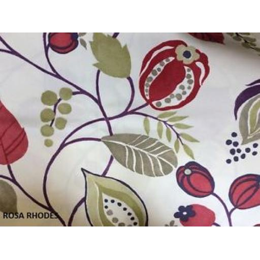 REMNANT FABRIC - PRESTIGIOUS - ZEST - RED