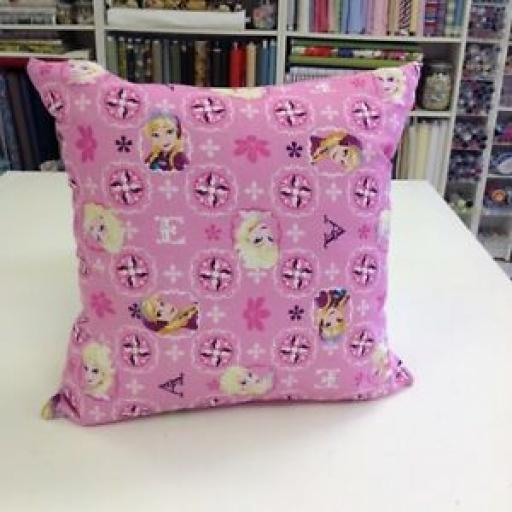 FROZEN ANNA AND ELSA CUSHION