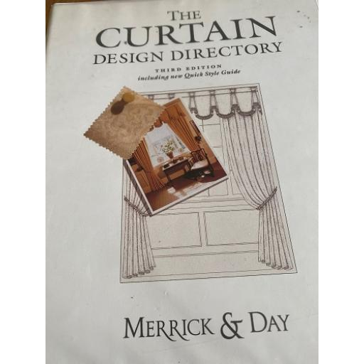 MERRICK & DAY THE CURTAIN DESIGN DIRECTORY BOOK